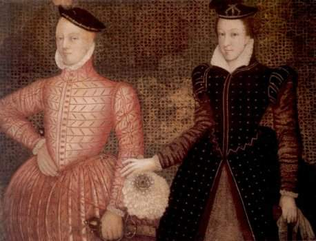 Mary Stuart and James Darnley