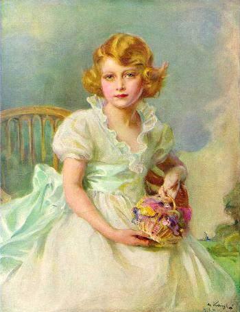 Princess Elizabeth of York, Currently Queen Elizabeth II of England, 1933