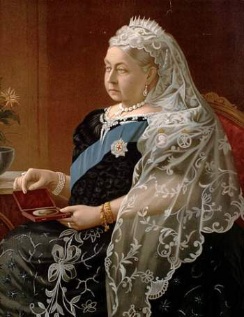 Queen Victoria mourning