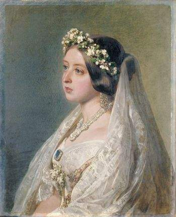 Queen Victoria, wedding dress
