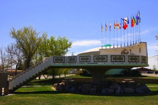 Saint Paul Alberta, UFO landing pad