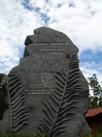 Tanjung Piai statue