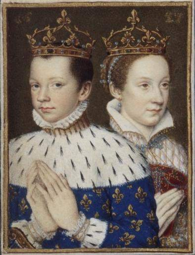 Dauphin of France, Francis and Mary, Queen of Scots