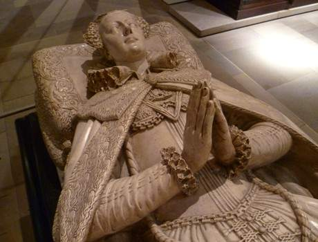 Tomb effigy of Mary, Queen of Scots