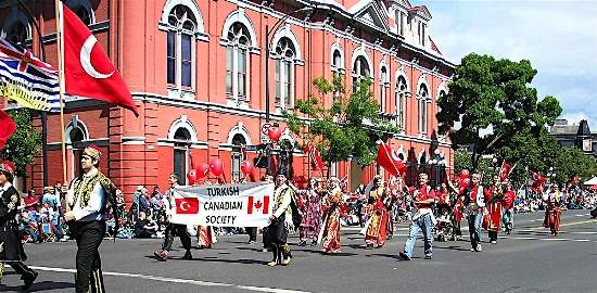 Victoria day parade, 2005