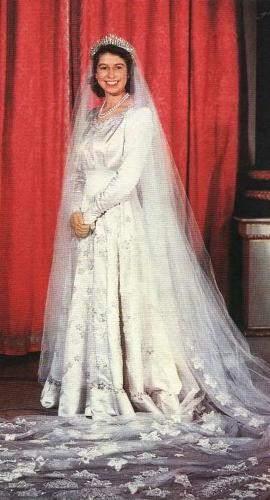 Wedding Gown- Queen Elizabeth