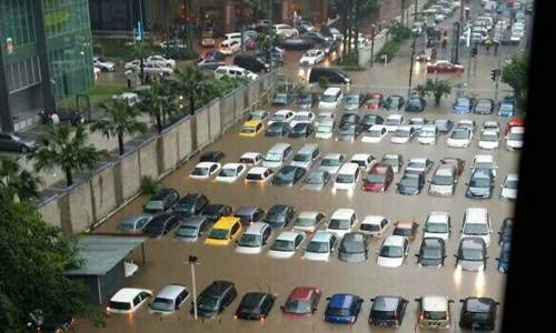 flash floods KL