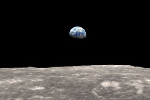 moon and earth lroearthrise frame