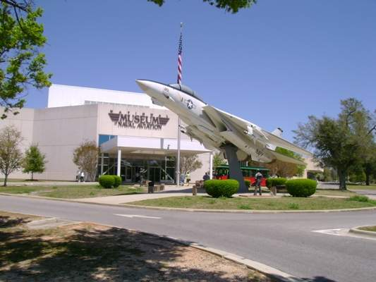 naval air museum entrance