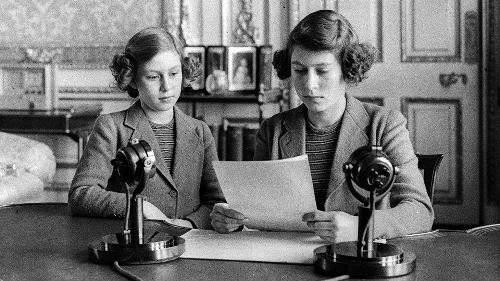 princess elizabeth first radio broadcast