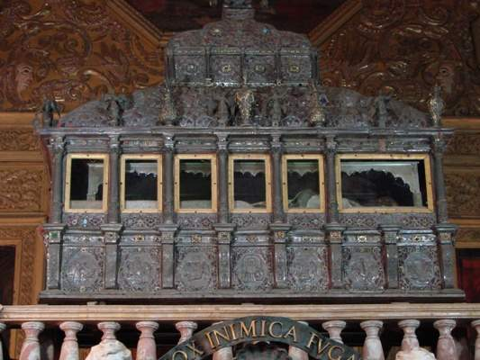 relics of saint francis
