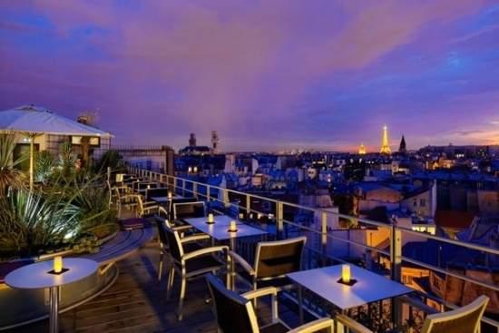 rooftop resturants Paris