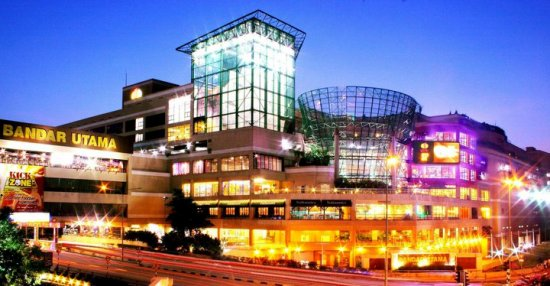 utama shopping mall