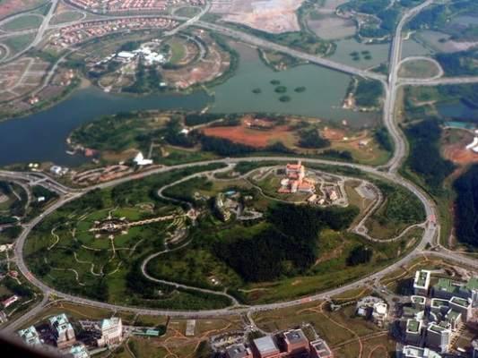 worlds largest roundabout, putrajaya malaysia