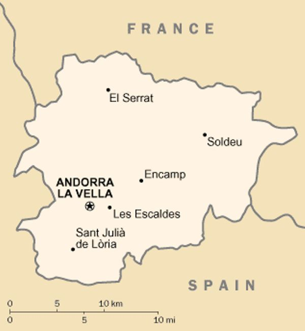 Andorra And World War 1