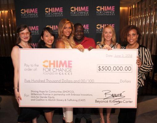 Beyonce donates