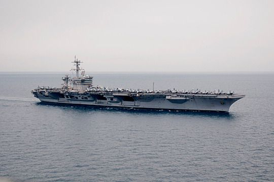 Carl Vinson- the official site of Osama's sea burial