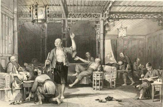 Chinese opium dens
