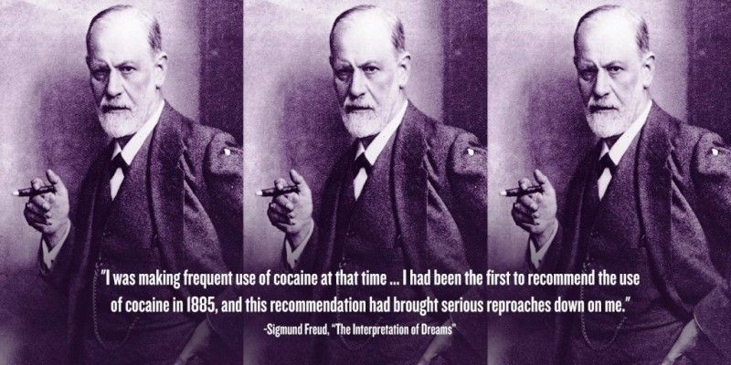 Cocaine and Sigmund Freud
