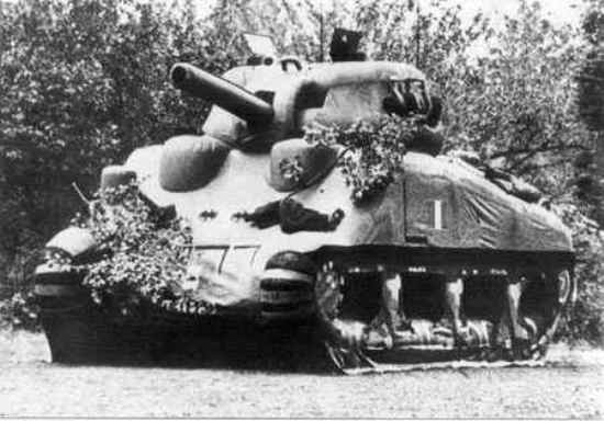 Dummy Sherman Tank