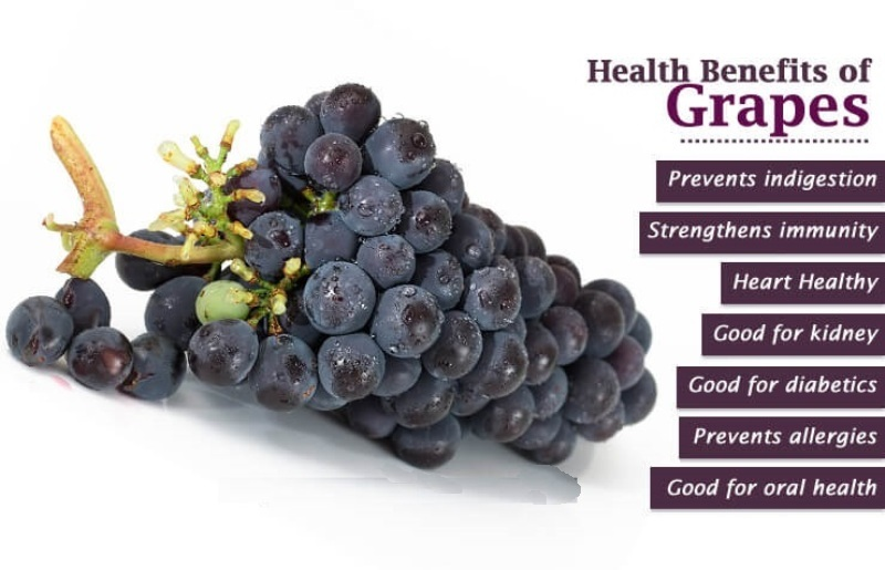 Grapes And Health Benefits