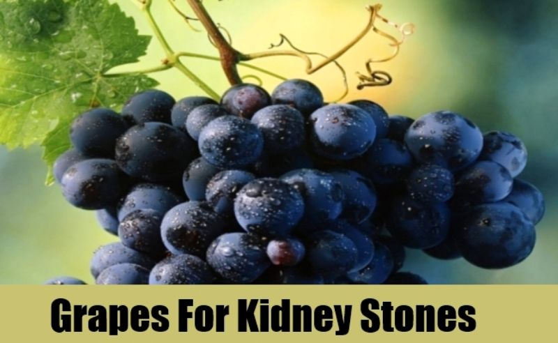 Grapes For Kidney Stones