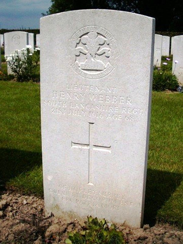Henry Webber The Oldest Soldier In The First World War