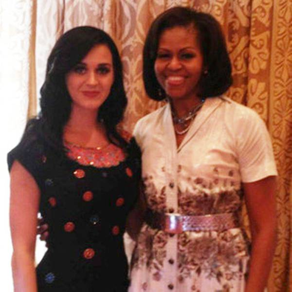 Katy Perry With Michelle Obama