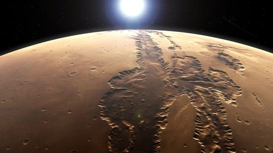 Mars, Valles Marineris