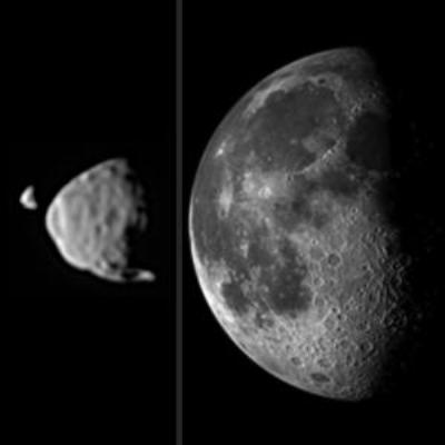 Mars moon, Deimos and Phobos