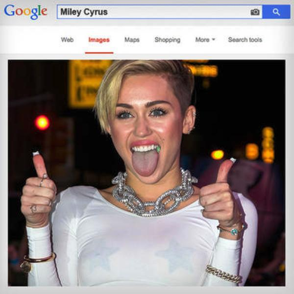 Miley Cyrus Most Searched On Google