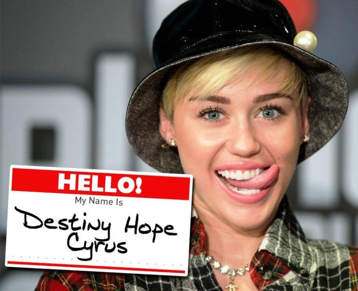 Miley Cyrus Real Name