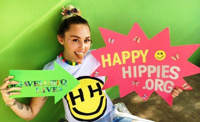 Miley Cyrus The Happy Hippie Foundation