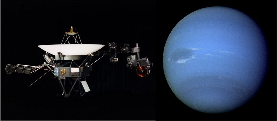 Neptune and voyager