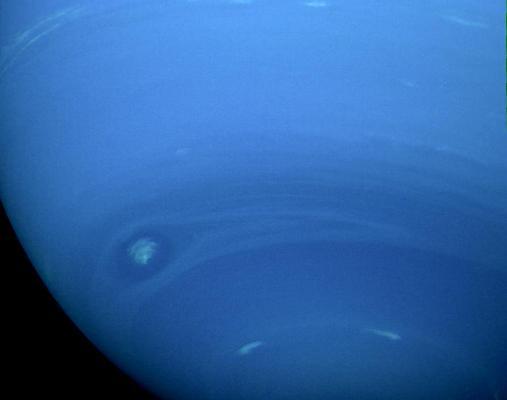 Neptune's small dark spot