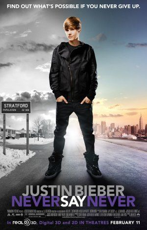 Never say never poster