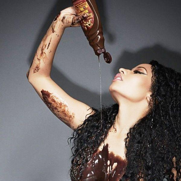 Nicki Minaj And Chocolates