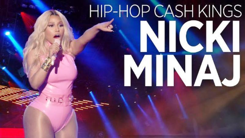 Nicki Minaj On Forbes Hip-Hop Cash King List
