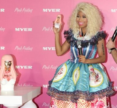 Nicki Minaj at Sydney's Pink Friday promotion