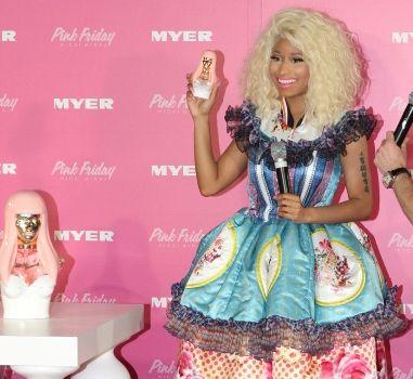 Nicki Minaj at Sydney's Pink Friday promotion