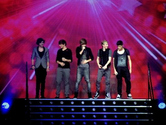 One Direction X Factor Live_Glasgow