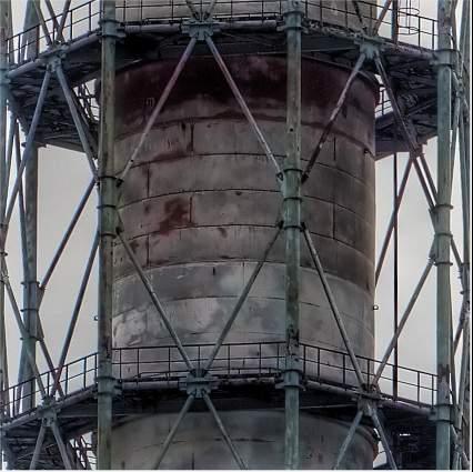 Reactor 4 chimney