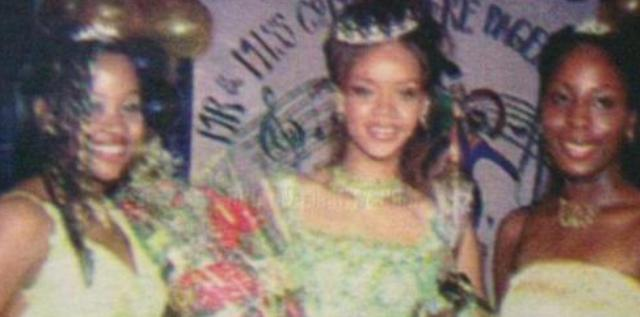 Rihanna As a Beauty Queen