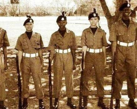 Rihanna military cadet