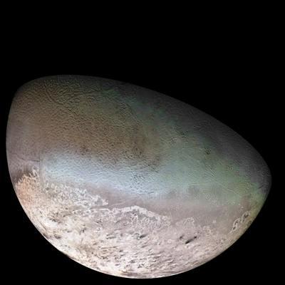 Triton moon mosaic Voyager