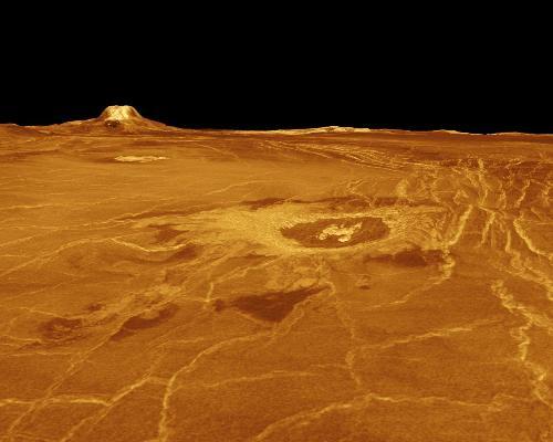 Venus is flat