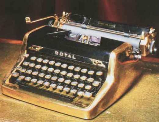 fleming typewriter