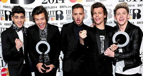 one direction brit awards