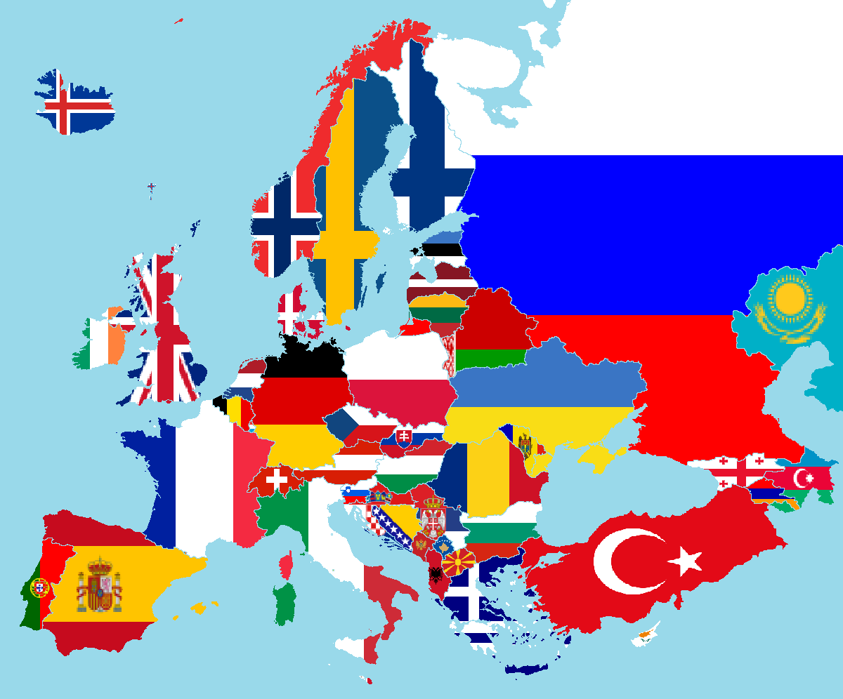 Europe_flags