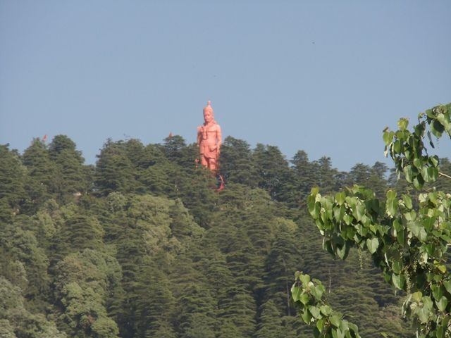 Hanuman Statue at Jakhoo Temple Shimla